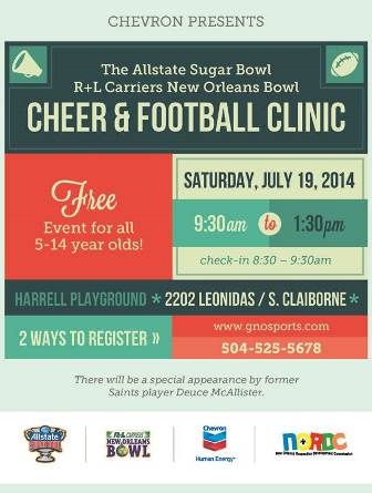 Cheer and Youth Clinic
